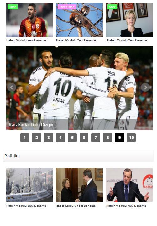 ornek haber sayfasi